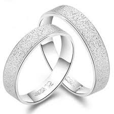Unique Wedding Ring Sets by Forever Love Engraved Sterling Silver His And Her Promise Rings