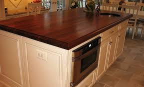 wood tops for kitchen islands island countertop stylish walnut wood countertop with undermount