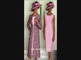 African American Clothing Catalogs African American Women Church Suits Youtube