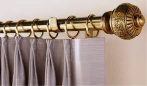 Decorative Rods For Curtains Custom Curtain Rods Curtains For Traverse Rods Designs