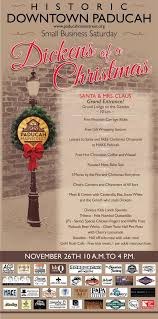 2016 dickens of a christmas small business saturday city of paducah