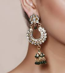 Buy Kundan Embellished Dangler Earrings 120 Best Beautiful Earing Images On Pinterest Indian Jewelry