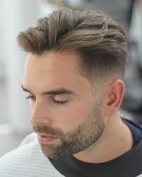 textured top faded sides very classy the fade hairstyles hommes men s fashion style