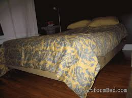 strong and tough platform bed diy 7 steps with pictures