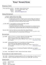 100 easy perfect resume free resume templates fast u0026 easy