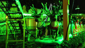 santa reindeer express at hyde park winter 2016