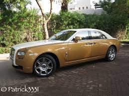 gold rolls royce 24 hours with a rolls royce ghost