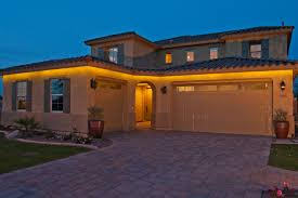 outdoor under eave lighting beautiful led strip lights convention phoenix mediterranean exterior