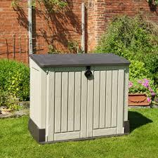 plastic garden storage cabinet chest waterproof bar cabinet
