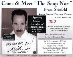 meet the soup in new york seinfeld blog discussion