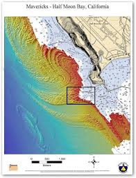 california map half moon bay map reveals secret of awesome mavericks waves new scientist