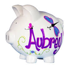 Monogrammed Piggy Bank 53 Best Personalized Piggy Bank Images On Pinterest Piggy Banks