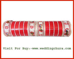 wedding chura with name pink punjabi chura jewelry fashion