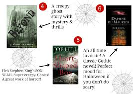 good books to read around halloween