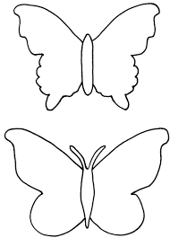 butterfly template printable free