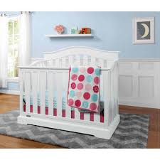 Non Convertible Cribs Graco Westbrook 4 In 1 Convertible Crib White Walmart