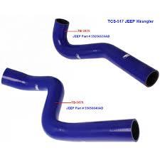 turbo jeep wrangler samco hoses jeep wrangler jk crd turbo 55056639ab and 55056640ad