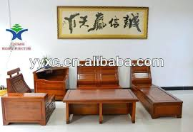 Solid Wood Living Room Furniture Wooden Living Room Set Cirm Info