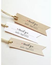 bridal shower favor tags great deals on 25 wedding thank you tags wedding gift tags bridal