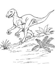 deinonychus dinosaur coloring free printable coloring pages