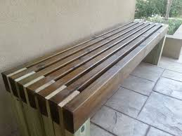 sitting in the park style bench superior backyard bench ideas 5