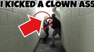 place to go on halloween clown hunting on halloween i kicked a clown youtube