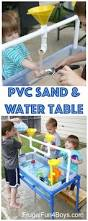 how to make a pvc pipe sand and water table best backyard images