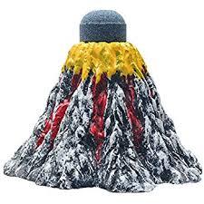 uniclife aquarium volcano ornament bubbler kit fish