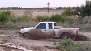 Ford Diesel Trucks Mudding - 2000 ford ranger 4x4 mudding youtube