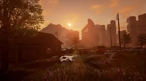 new post apocalyptic city speed level design video for my game