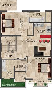 first floor in spanish 5 marla spanish villa palm city lahore