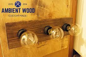 Industrial Bathroom Vanity Lighting Industrial Bathroom Vanity Light Fixture Pine Panel