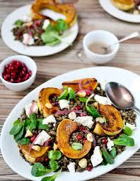 cuisine hiver salade d hiver aux lentilles des salades d hiver complètes qui
