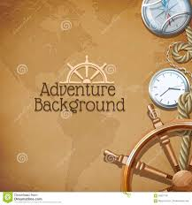 Real Treasure Maps Adventure Map Background Stock Vector Image 56901130