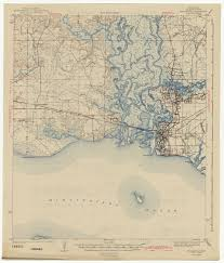 Louisiana Mississippi Map by