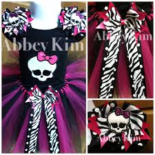 Halloween Costumes For Monster High Monster High Tutu Set Skull Tutu U0027s Pinterest Monster High