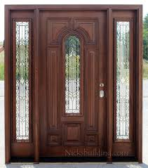 Exterior Door With Side Lights Entrance Doors With Sidelights Modern Home House Design Ideas