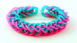 bracelet rainbow looms images Rainbow loom french braid bracelet tutorial idunn goddess jpg