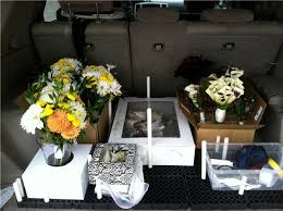Flowers Delivered With Vase Florist Stories Transporting Flowers For Weddings