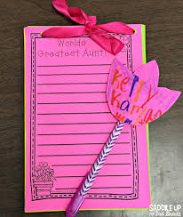 mother u0027s day notepads saddle up for second grade