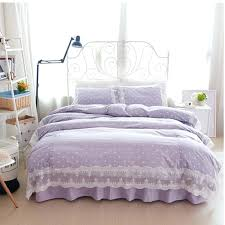 Korean Comforter Medium Image For Purple Pink Dots Bedding Set Polka Dot Full Queen
