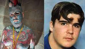 man with tattooed eyeball changes his name newsbite