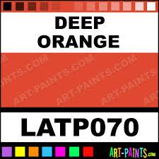 deep orange oil pastel paints latp070 deep orange paint deep