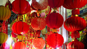 new year lanterns for sale samutprakarn thailand february 6 2016 lantern festival