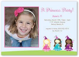 princess pixies photo card 1st birthday invitations