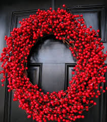 Christmas Decorations Outdoor Wreaths by Tips For Decorating Your Entrance For Christmas