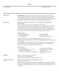 resume objective examples hospitality resume resume hospitality template resume hospitality medium size template resume hospitality large size