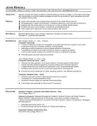 Electronics Technician Resume Samples by Job Resume Sample Computer Repair Technician Duties Regarding 15