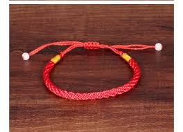 bracelet lucky images Wholesale red line stretch knot lucky bracelet hand made red weave jpg