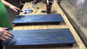 How To Lighten Stained Wood by Amateur Wood Finishing 101 Introduction To Water Based Staining